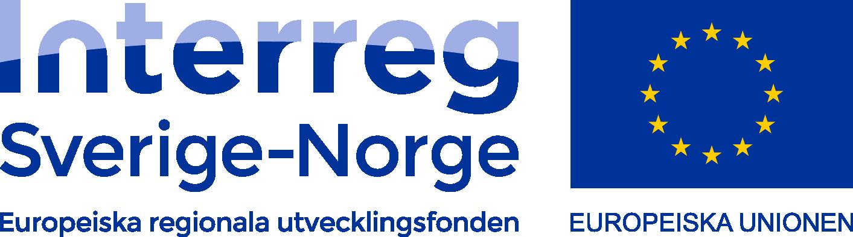 Logotyp: Interreg Sverige Norge, Europeiska Unionen
